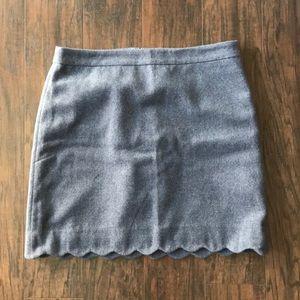 LOFT Grey Skirt